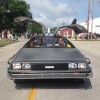 We love a parade! The DeLorean Rental Car participated and won first place!