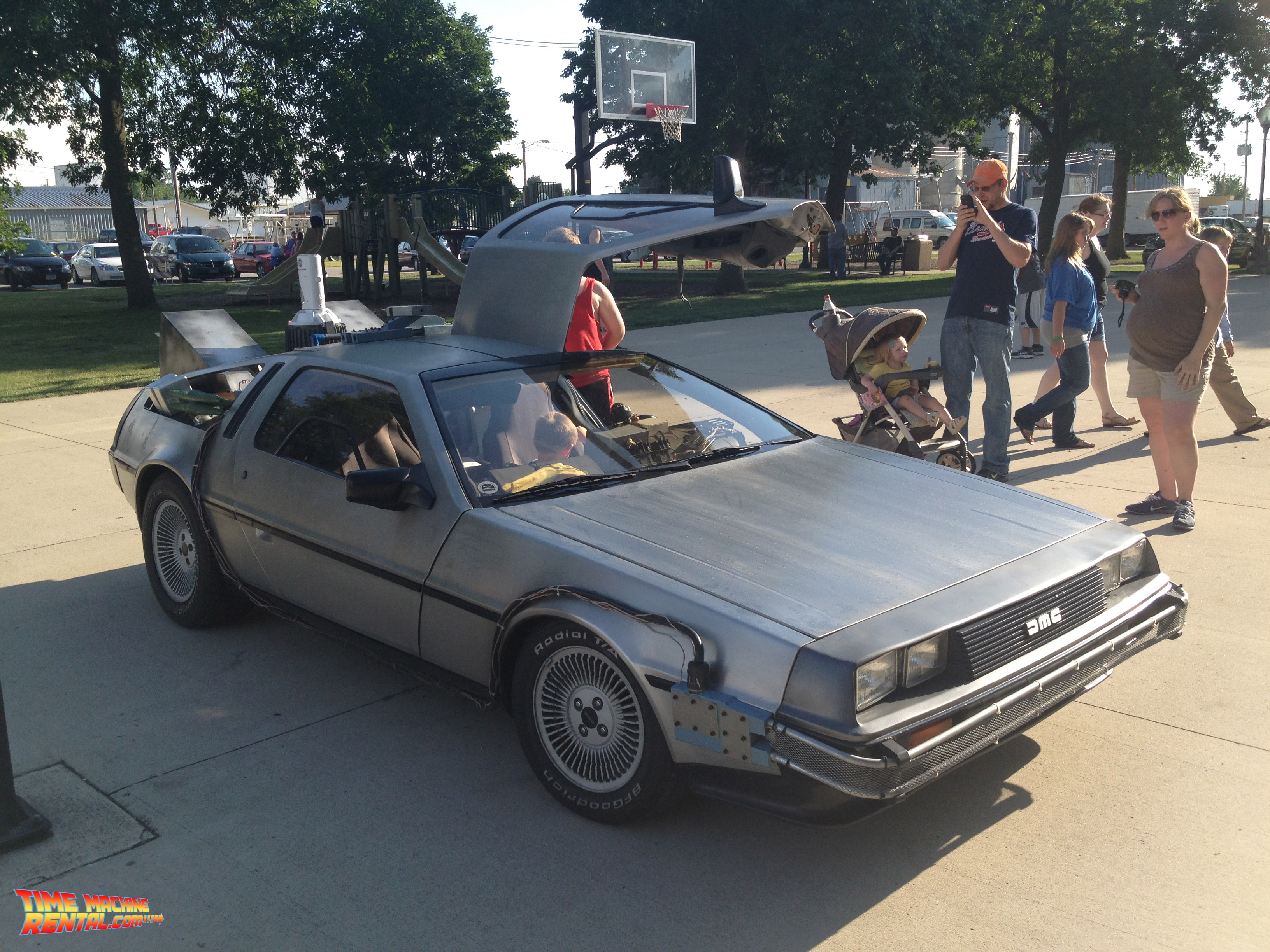 Back to the future and enjoy the magical interior and exterior
